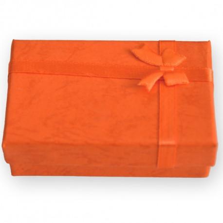 Dárková krabička na šperk,oranžová
