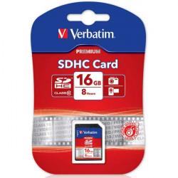 SDHC Verbatim 16GB
