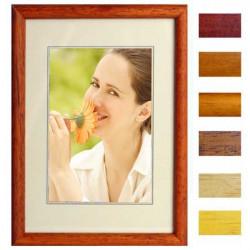 Dřevěný fotorámeček, typ 11