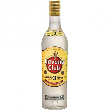 Etikety na láhve Havana