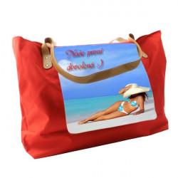 Plážová taška s potiskem