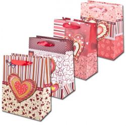 Dárkové tašky Srdce a čáry