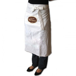 Kuchyňská zástěra BISTRO bílá