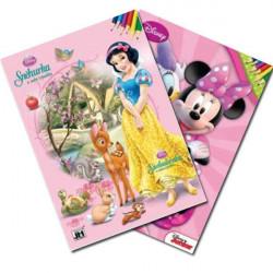 Dětské omalovánky, Disney