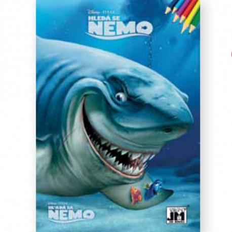 Omalovánky Hledá se Nemo