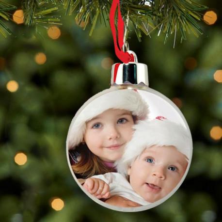 Vánoční ozdoba s fotkou