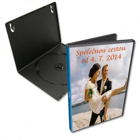 DVD obal slim s vlastní fotkou