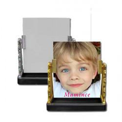 Klíčenka s fotografií, slza