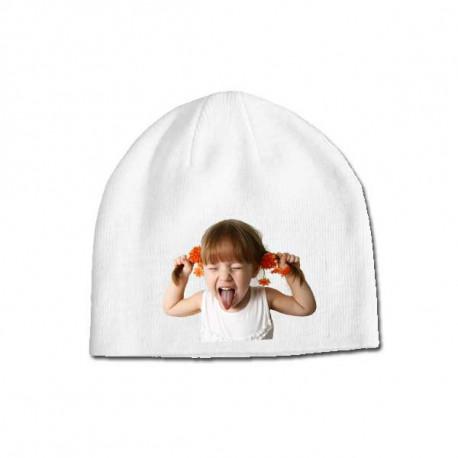 Potisk na zimní čepici
