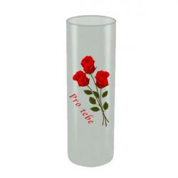 Potisk skleněné vázy