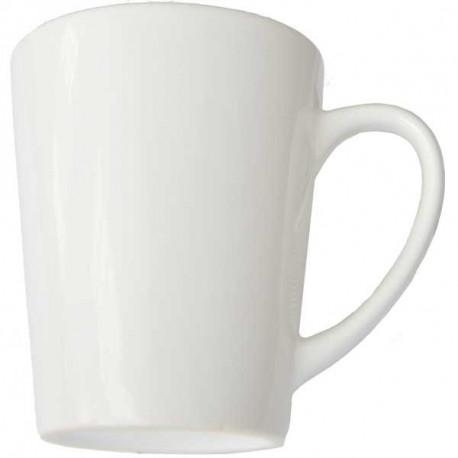 Potisk na hrnek na latte, bílý