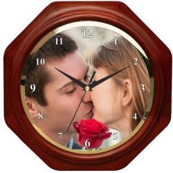 Dřevěné hodiny 28x28cm