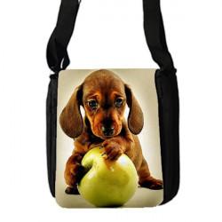 Potisk batohu, velky, pres rameno s kapsou na mobil B+W