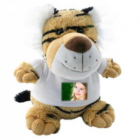 Plyšák tygr 21 cm s potiskem