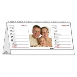 13x30cm Stolní kalendář z vlastních fotografií,14-denní