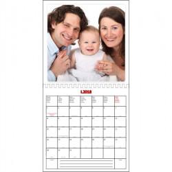 Výroba vlastního kalendáře 20x20cm, oboustranný