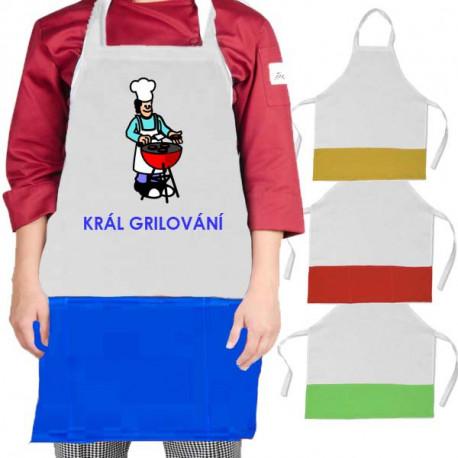 Kuchyňské zástěry barevné