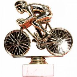 Pohar s mramor. podstavcem - cyklista