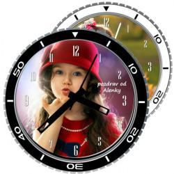 Moderní nástěnné hodiny pr.29cm