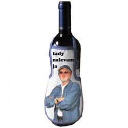 Zástěra - dárkové balení vína