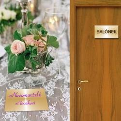 Jmenovky na stůl a dveře