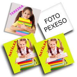 Pexeso z fotografií 18-párů, 7x7cm