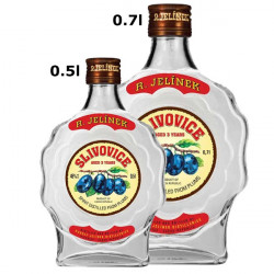 Etikety na láhve Slivovice