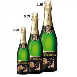 Etiketa na víno, Bohemia Demi sec