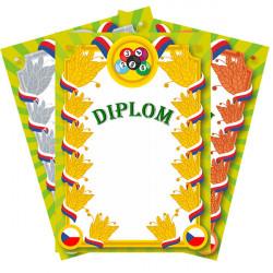 Diplomy KULEČNÍK na fotopapíru