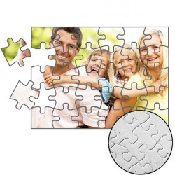 Puzzle z fotografie, 15x20cm, dílků-30, karton