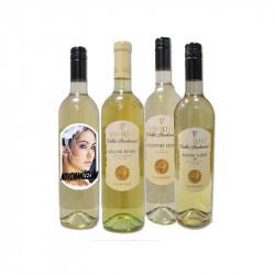 Etiketa na víno Vinium bílé
