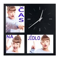 hodiny s fotografiemi (3foto)