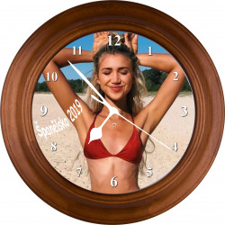 Nástěnné hodiny dřevěné