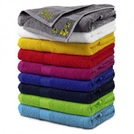 Výšivka na ručník