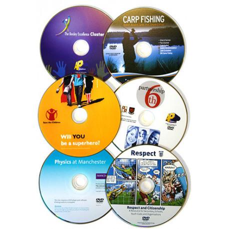 Potisk CD