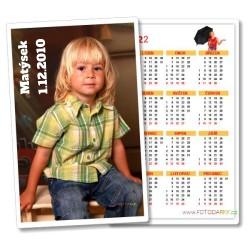 2ks Kapesní kalendář roční na výšku