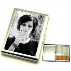 Cigaretové pouzdro s potiskem