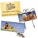 Signs, hangers, name tags